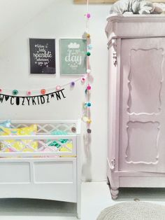 lovely wardrobe for nursery