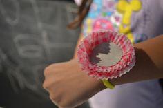 Baby Sock #Corsage #diy #idea (cupcake liner)