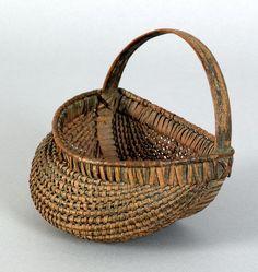 lovely old egg basket