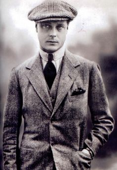 David (later Edward VIII), Prince of Wales.
