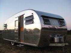 1948 Spartan Spartanette vintage travel trailer