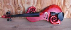 Awesome red violin
