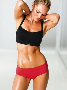 Toned perfection.
