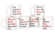 Grammar police: Your mugs are here!