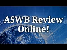 Youtube - ASWB Study Guide Social Worker