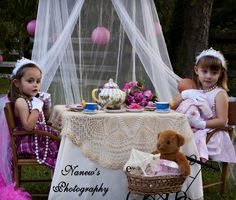 SOUTHERN LITTLE GIRL'S TEA PARTY
