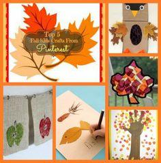 Top 5 Fall Kids Crafts