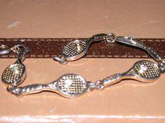 Tennis Racket Bracelet