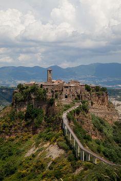 lazio italy, castl, italia, provinc, place place, lazio itali, bridg, beauti, civita di bagnoregio