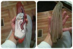 Driftwood Santa by JaxonSigns on Etsy, $20.00