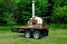Model 83 Copper Dome Mobile Wood Fired Oven | Maine Wood Heat Company | MWH |