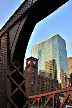 view through the bridge