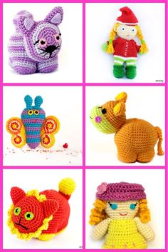 Do you love #crochet? I do. Start creating your own #DIY #cute #critters with Amichy #amigurumi #patterns