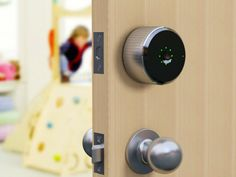 Use your phone to lock or unlock your Danalock equipped door. No more lost key or forgotten door code again. Can be mounted on any type of door by anyone. GetdatGadget.com/danalock-keys-just-smartphone/