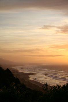 West Coast sunset (por cathm2)