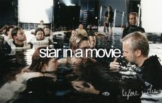 star in a movie