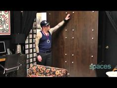 Man turns 350 sq ft apt into insanely chic home - tiny, eclectic, amazing spaces video