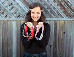 DIY Headbands in Less than 5 Minutes | Brit + Co...I am following this girl's blog now. she is the bomb!