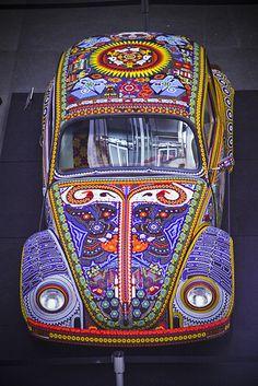 Colorful VW Beetle