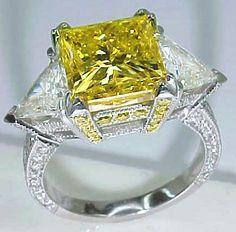 Beautiful yellow diamonds.