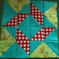 patterns, hst, tile, half square triangles, squar triangl, quilt blocks, diy idea, bright colors