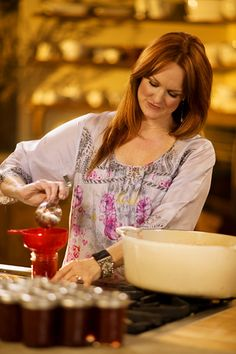 The Pioneer Woman - enjoy this new Food Network series - she's down home on a ranch - my kind of woman