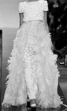 evening dresses, fashion, dream, white, chanel haut, chanel couture wedding dress, haut coutur, cashmere, haute couture