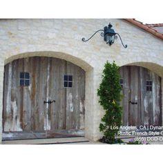 Rustic Cottage Garage Doors On Pinterest Garage Doors