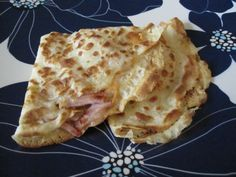 Ham & Cheese Crepes on Weelicious