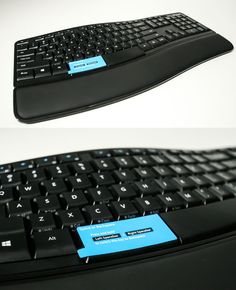 This keyboard has a backspace button on the left side of the space bar. This actually makes a lot of sense!