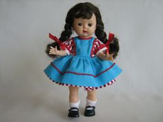 Vintage Nancy Ann Muffie Doll  HTF Brown Eyes  by TheToyBox, $100.00