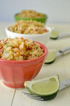 Cauliflower Spanish Rice - Fork & Beans