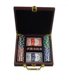 Custom Engraved Poker Gift Set: Gift for Groomsmen, Best Man, Birthdays, Graduations and More. $44.99, via Etsy.