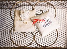 ring pillows, lincourt vineyard, lincourtwed vineyardwed, weddings, ringpillow, vineyard wedding
