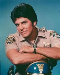 Erik Estrada starring in a tv show in the 70's called Chips.
