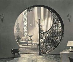 Wonderful 1930s archway.