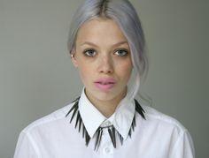 gray hair, grey hair, purple hair, hair colors, silver hair