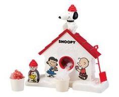 The Snoopy Snow Cone Machine! Who remembers having this as a kid?! :) ($16.98)