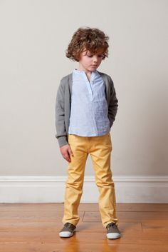 boys don't have to wear dark colors.