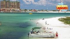 2013 Best Family Beach according to Travel Channel: Destin, Florida
