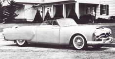 Richard Arbib and Henney Body designed and built the chopped and channeled Pan American, which led directly to the production 1953 Caribbean.