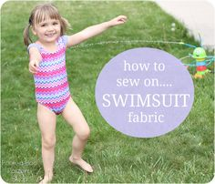 How to Sew on Swimsuit Fabric