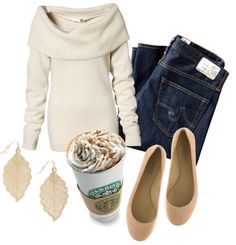 """""""Simple Fall Outfit"""" by natihasi on Polyvore"""