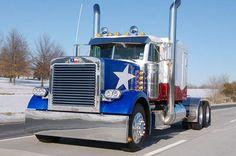 texas flag. Semi truck. love it!