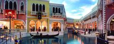 Grand Canal Shoppes at the Venetian Hotel & Resort, Las Vegas ~ beautiful place to shop