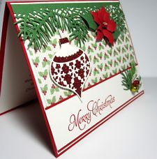 View Item: Handmade ornaments Stampin Up