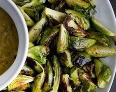 Crispy Brussels Sprouts with Black Garlic Aioli | 29 Tasty Vegetarian Paleo Recipes