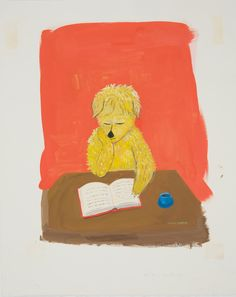 Dog Reads Book, Maira Kalman