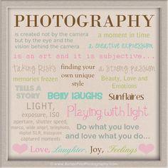 Photography...