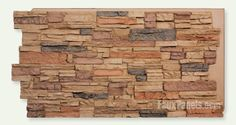 Norwich Colorado Stacked Stone Desert Sand Panel...to cover cement block foundation